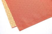 [L/29inc] FUROSHIKI- Japanese Traditional Wrapping Cloth (Komon x Flax ornament