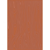 Craftwell USA Teresa Collins Embossing Folder, Woodgrain Cottage