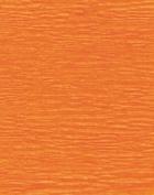 Crepe Paper Orange 1.5m X 50cm