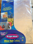 Bright Ideas Ultra Foil Colours SILVER Metallic Paper Wrap by Reynold's Creative Essentials