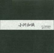 Ogawa(hosokawa) Washi Single Colour Paper 25cm(9.84 In), No.14 Moss Green, 50sheets
