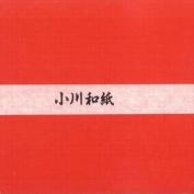 Ogawa(hosokawa) Washi Single Colour Paper 25cm(9.84 In), No.1 Red, 50sheets