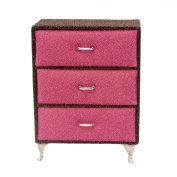 Small Dresser Jewellery Box Pink Brown
