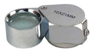 10x Power 21mm Jewellers Magnifier Magnifying glass Eye Loupe Jewellery Store New