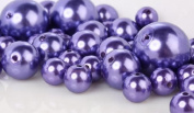 240ml Bag Approx 68 Pearls Wholesale Elegant Vase Fillers or Table Scatter Purple Pearl Beads- Unique Decorative Beads for Weddings, Centrepieces and More