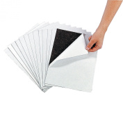 12 Magnetic Sheets of 22cm X 28cm Adhesive Magnet Peel & Stick