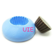 163LBG Cupcake 13mm Tart Bottom Silicone Flexible Push Mould - Miniature Food Sweets