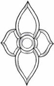 Stained Glass Supplies - Clear Glass Bevel Cluster BC505