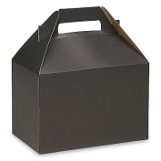 Gable Box Black Size 8 x 4 7⁄8 x 5 1⁄10cm Pack of 10