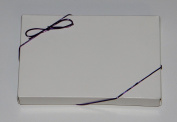 25cm Purple Stretch Loops 50ct for Candy Boxes 0.2kg. Boxes