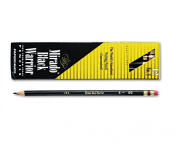 Paper Mate Mirado Black Warrior Woodcase Pencil Nontoxic , HB #2, Black Matte Barrel, Dozen, Sold as 2 Packs of 12, Total of 24 Each