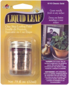 Plaid:Craft Liquid Leaf One Step Leafing Paint, 20ml, Classic Gold