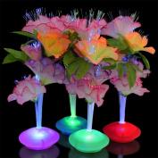 Fibre Optic LED Flower Centrepieces