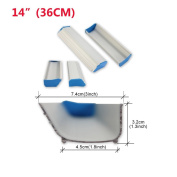 "1 pcs 14""(36cm) Emulsion Scoop Coater Silk Screen Printing Sizing Scrape Coating"