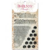 Bo Bunny Stamps, 10cm by 15cm , It is Written