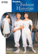 Simplicity Sewing Pattern 9769 Misses Costumes, HH