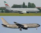 HASEGAWA 10808 1/200 KC-767 World Tanker Combo Limited