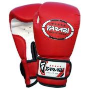 Kids boxing gloves, junior mitts, junior mma kickboxing Sparring gloves 120ml red
