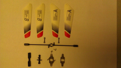 JXD 339 RC HELICOPTER REPLACEMENT PARTS SET