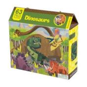 Dinosaurs 63 Piece Puzzle
