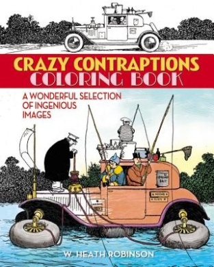 Crazy Contraptions Coloring Book (Chartwell Coloring Books)