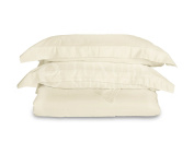 Ultra Soft Bamboo Duvet Covers by ExceptionalSheets, King/Cal King, Ivory