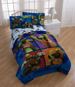 Teenage Mutant Ninja Turtles Comforter and Sheet Set