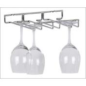 Kitchen Wine and Home Under Cabinet 6 Wine Glass Rack Holder