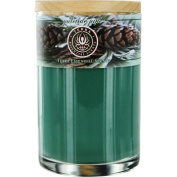 YULETIDE PINE by SOY CANDLE 350ml TUMBLER. A COMFORTING BLEND OF PINE & EVERGREEN OILS. BURNS APPROX. 30+ HOURS