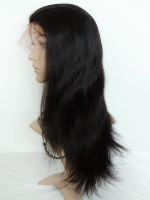 70cm Sina Beauty Colour #2 Best Brazilian Human Straight Long Virgin Hair Glueless Full Lace Wigs For African Americans Bleached Knots Baby Hair