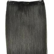 100% Human HAIR PIECE (clip-in hair) - 46cm in length & Remy Hair
