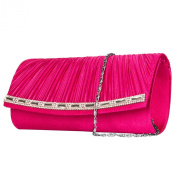VanGoddy Mildred Collection Women's Diamond Clutch Handbag Carrying Case
