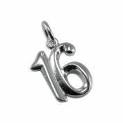 Sterling Silver Birthday Number Charms
