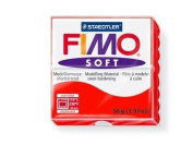 Fimo Soft Indian Red 56g Polymer Clay Block, Fimo Colour Reference 24 -