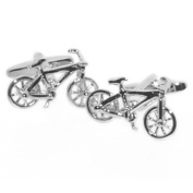Cool bicycle cufflinks for the biking and cycling enthusiast