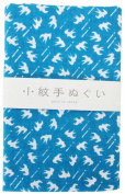 "Japanese Traditional Towel ""Tenugui"" Small PatternSwallow"