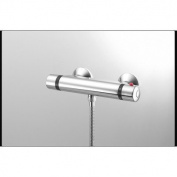 Komo Exposed Thermostatic Bar Shower Mixer