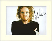 TIM MINCHIN SIGNED AUTOGRAPH PHOTO PRINT IN MOUNT