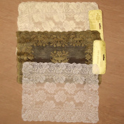 60cm or 2x 36cm Round Rectangle Lace Table Cloth Doilie Covering Vintage (2X Rectangle