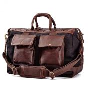 Will Leather Goods Men's Traveller Duffel Bag
