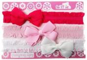 Baby 3 Pack Lace Headband Set