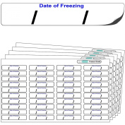 "640x ""Date of freezing"" FREEZER GRADE Self Adhesive Stickers. For Use With Any Standard Pen or Biro. Free First Class UK Delivery."