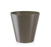 30cm Fiori Estoril Brown Planter Flower Pot Container Orchid Herbs Plant Pot