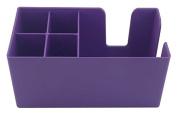 Purple Bar Caddy Classic   Plastic Bar Caddy Purple, Bar Aide, Bar Storage, Bar Organiser, Bar Condiment Caddy, Napkin Holder, Straw Holder by Chabias Ltd