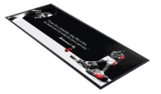 Muhammad Ali Floats Like A Butterfly design bar runner great for home bar shop cocktail party advertising tool bar mat