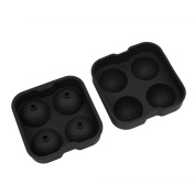 1 Set DIY Party Bar Kitchen Drink Sphere Round Ice Cube Maker Tray Mould Mould