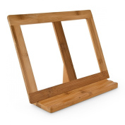 Bamboo Cooking Book Stand Size