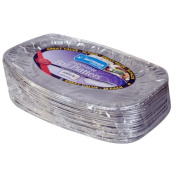 Kingfisher BC17FP Disposable Foil Platters 43cm Pack Of 20