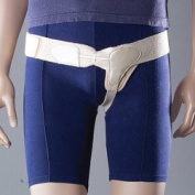 Professional Single sided Hernia Inguinal Truss Support Belt-RIGHT LARGE