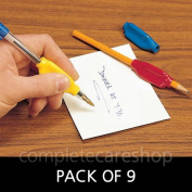 Soft PVC Pen & Pencil Holder - Pack of 9